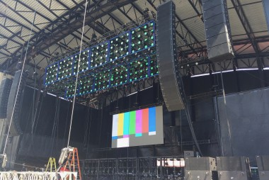 Jones beach concert LED screen