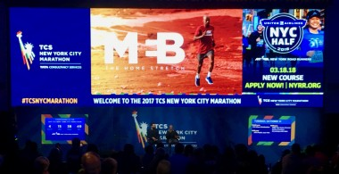 MEB marathon LED video