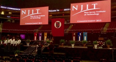 NJIT commencement