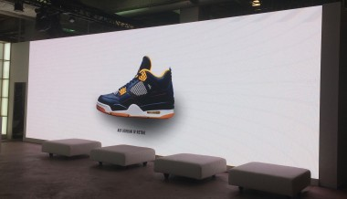 Nike Jordan event. Roe Black Onyx 3.47mm LED screen