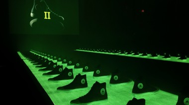 Converse II launch, Boston, MACreative LED design