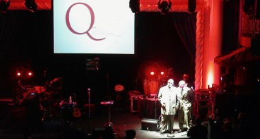 Stevie Wonder @ Quincy Jones awards. IMAG and projection