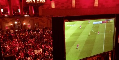 "Live Soccer ""United"" @ Gotham hall NYC"