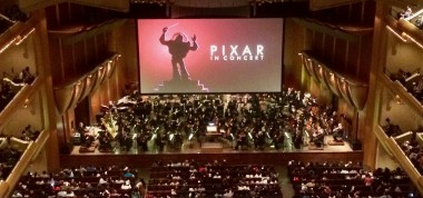 Pixar in Concert @ Lincoln Center Christie DCP projectors